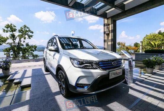 星恒电源配套奇瑞新能源电动物流车EV275,共同推动新能源汽车发展
