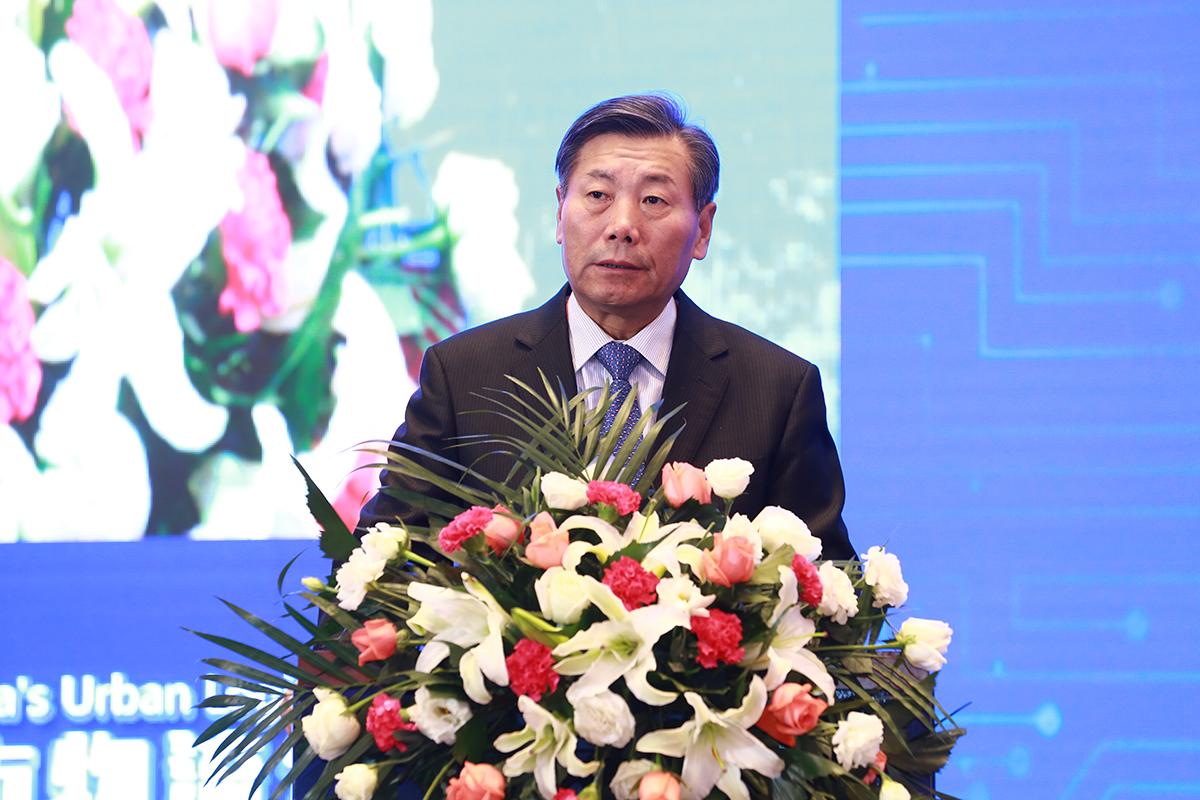 中国交通运输协会会长胡亚东在第八届中国城市物流发展年会上致辞:
