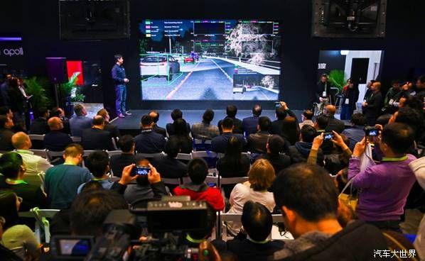 """从中国园区到美国街头,百度Apollo完美示范自动驾驶全物流场景""""接力跑"""""""