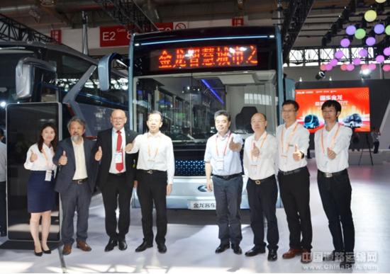 北京道路运输展金龙客车开启5G智能网联公交新时代