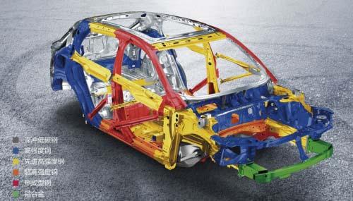 领克01车身结构
