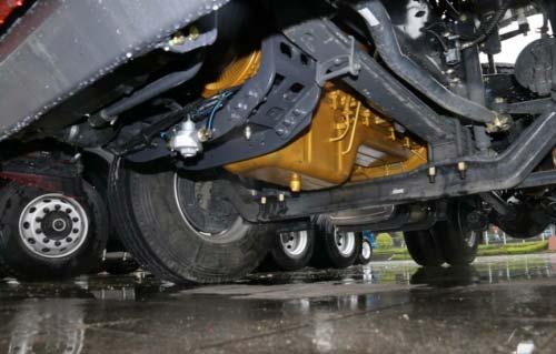 350L铝合金油箱可靠性更高