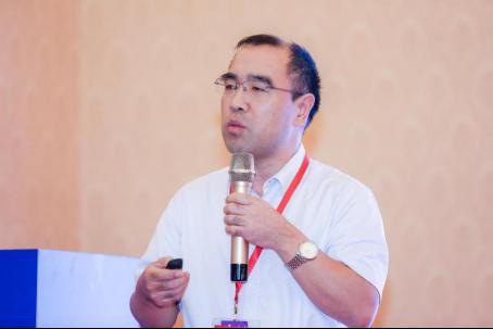 交通运输部科学研究院物流中心主任李彦林发表演讲
