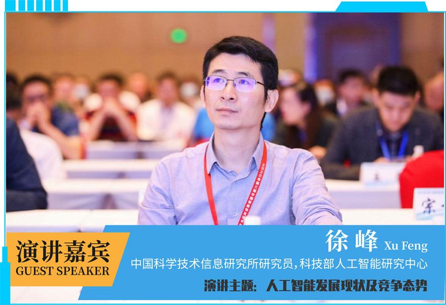 中国科学技术信息研究所研究员,科技部人工智能研究中心徐峰主任