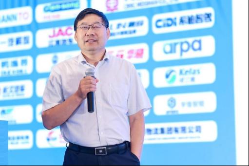 国家发改委综合运输研究所学术委员会副主任王彦庆发表主旨演讲