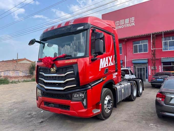 全国首台 中国重汽豪沃MAX交车啦